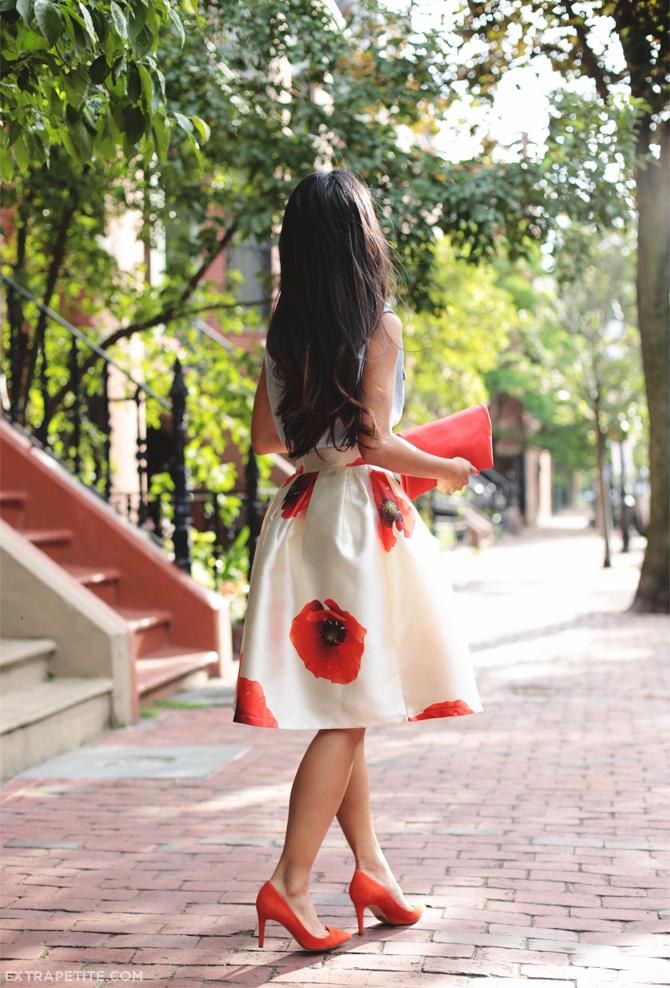 floral full skirt petites1