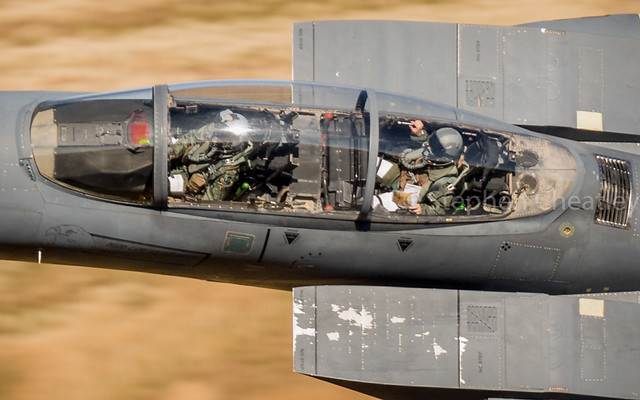 F-15E Close up of the office