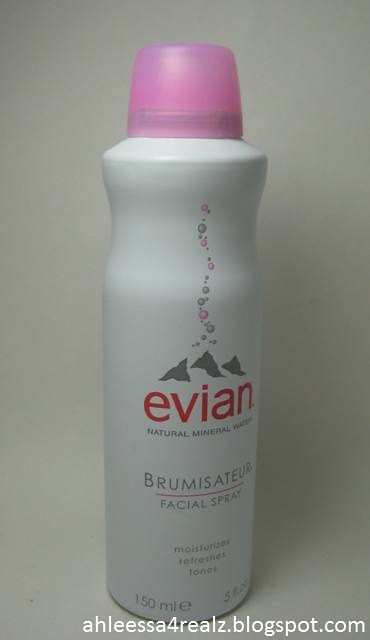 evian Facial Spray, Canon POWERSHOT SD750