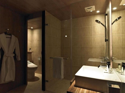 シャワートイレのあるホテル