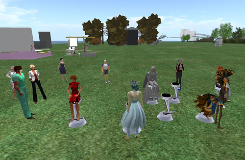 VWER 23 may 2013, health simulation in SL, Glasgow Caledonian