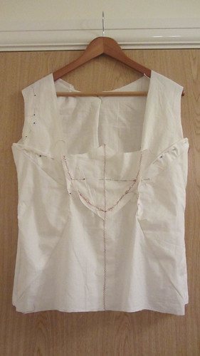 Bodice toile front