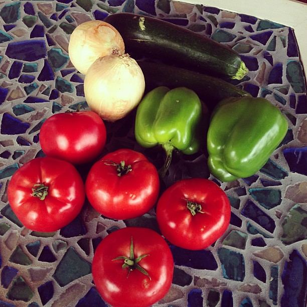 Mini market haul from our neighborhood guy. #farmersmarket