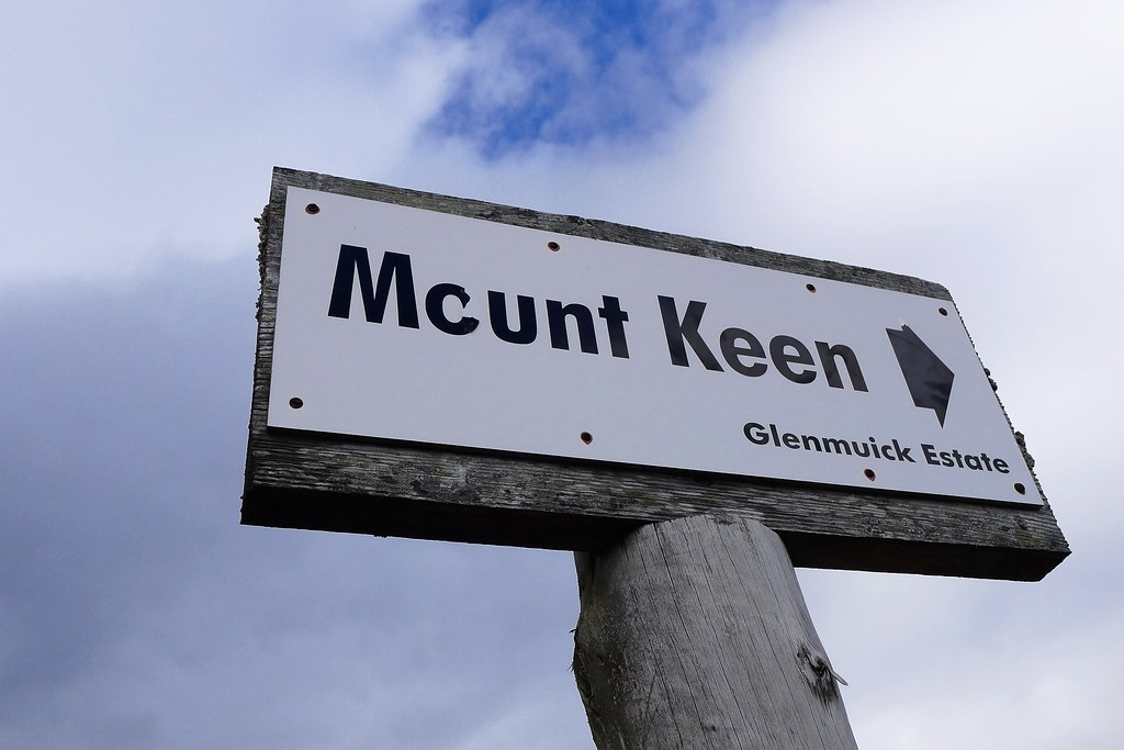 Mount Keen this way