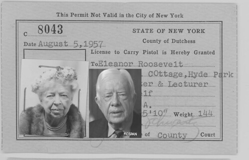 Jimmy Carter Reincarnation of Eleanor-Roosevelt