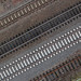 Railroad tracks from above by Florian Thein