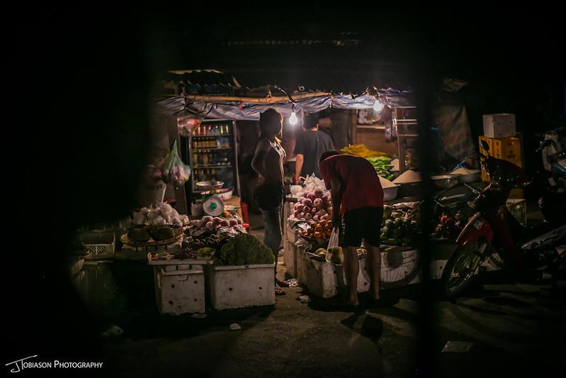 night market luang parabang