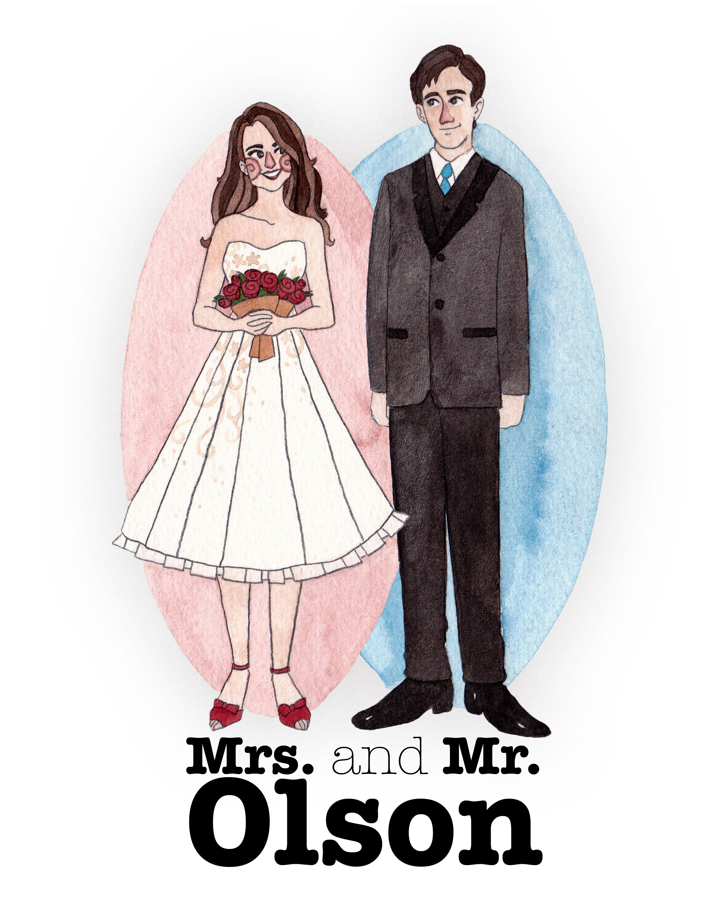 Mrs and Mr Olson