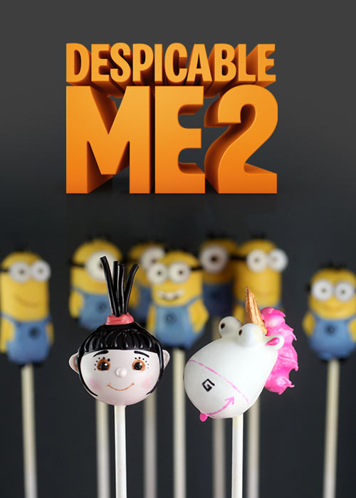 Despicable Me 2 Cake Pops