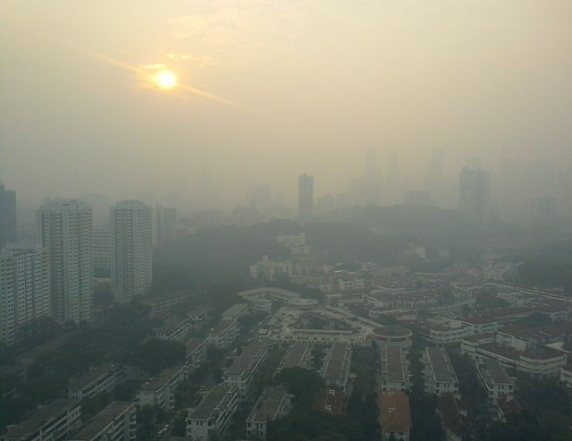 Indonesia is Covering Singapore in Smog