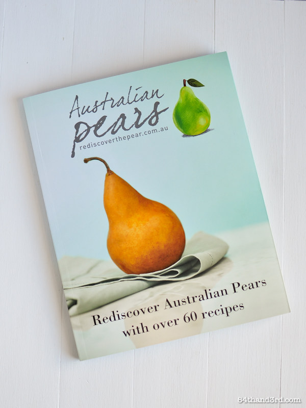 Australian Pears Cookbook