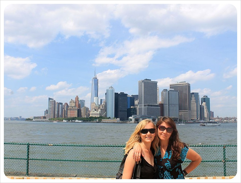 dani and jess on governors island