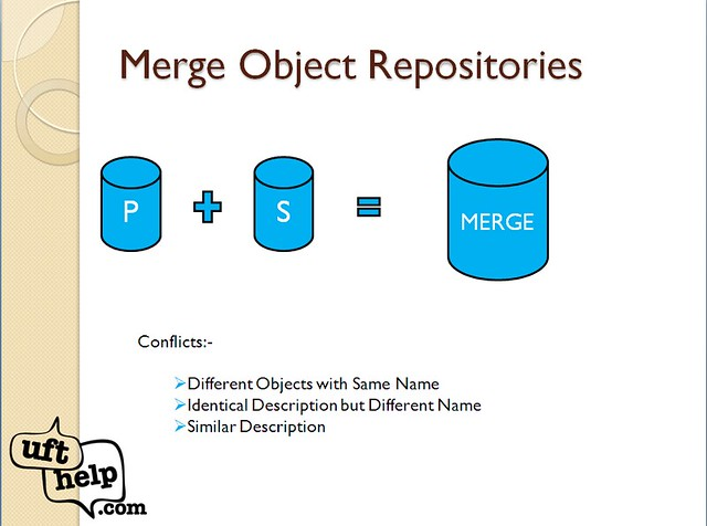 Object Repository Merge Tool in UFT