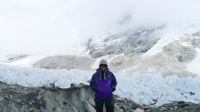 I finally reach Everest Base Camp