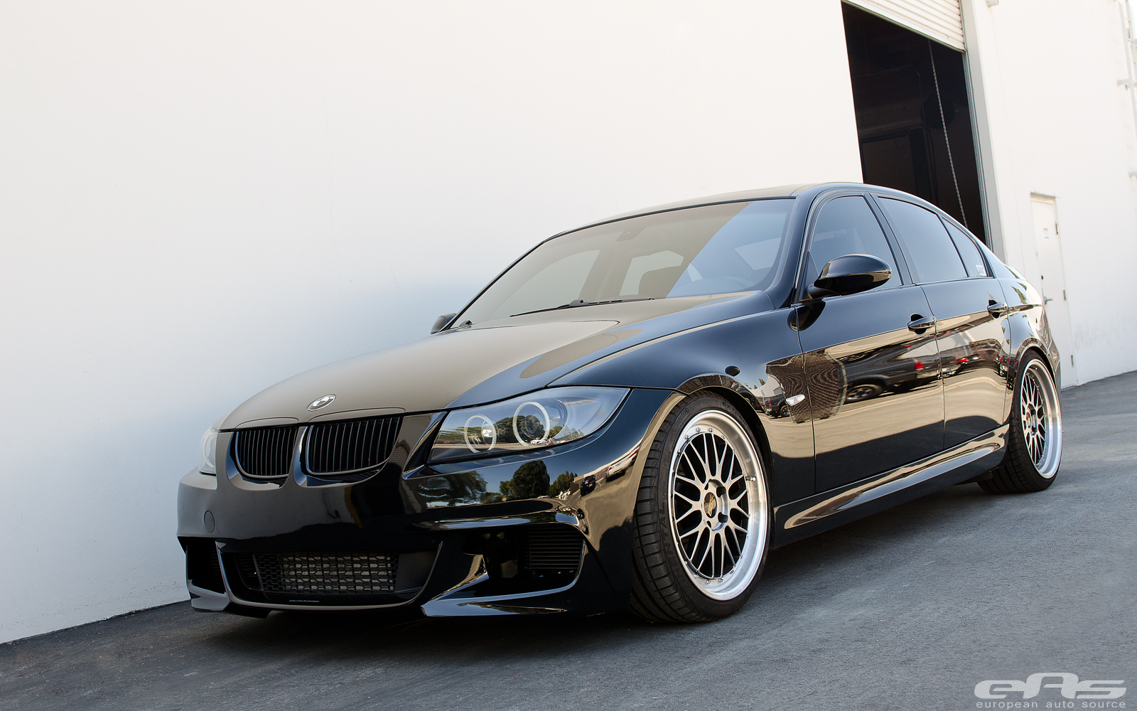 Highly Modified Black 335i Sedan | BMW Performance Parts & Services