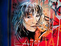 Raval Street Art by Alicè Pasquini