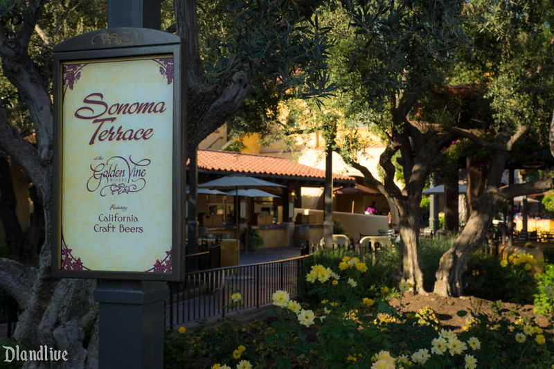 Sonoma Terrace - Disney California Adventure - Disneyland
