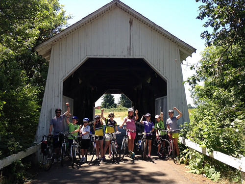 Cycle Oregon Weekend Bike Camp