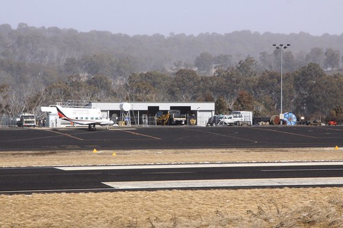 On the apron at Mount Hotham: Piper PA-31-310 Navajo VH-OYM