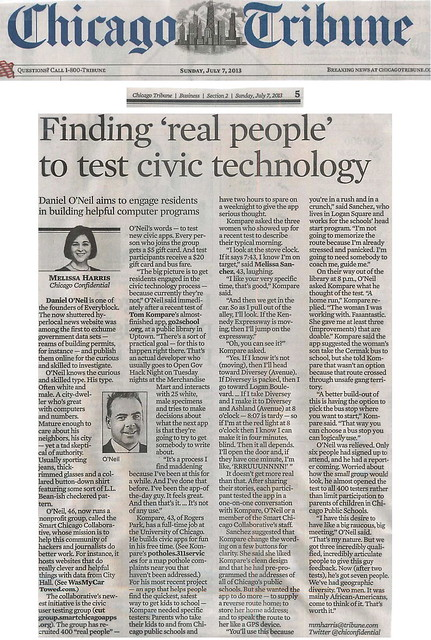 Harris: Finding 'real people' to test civic apps