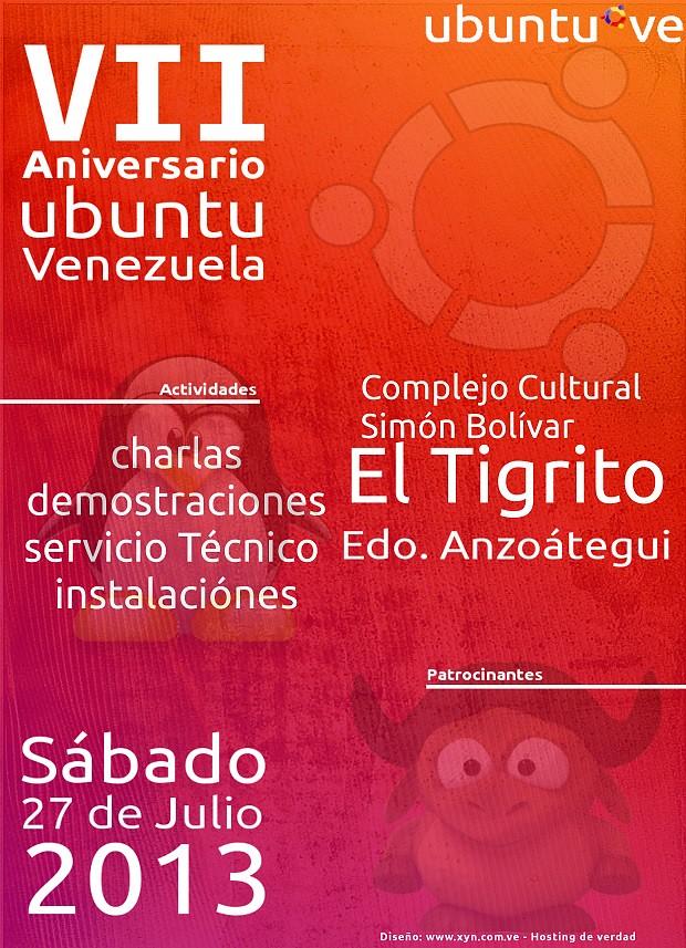 Aniversario Ubuntu