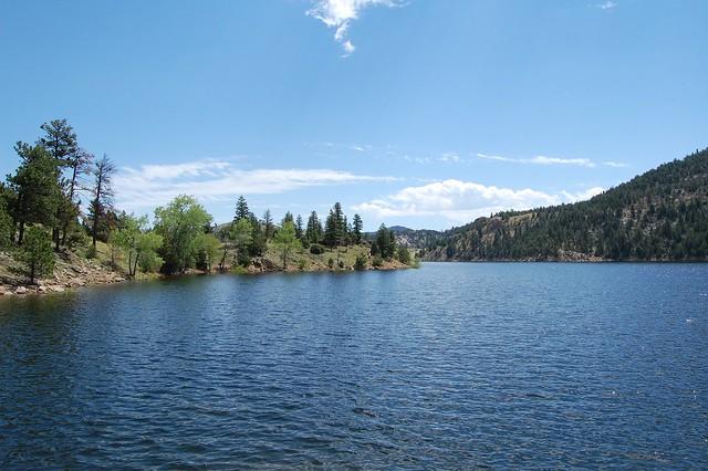Gross Reservoir - Camping and Boating, Gross Reservoir, CO