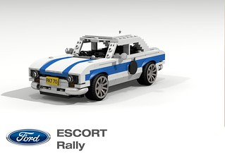 Ford Escort Mk I - Rally 1969