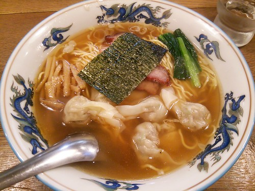 ra130803松波ラーメン店 ワンタン麺 キーマカリー