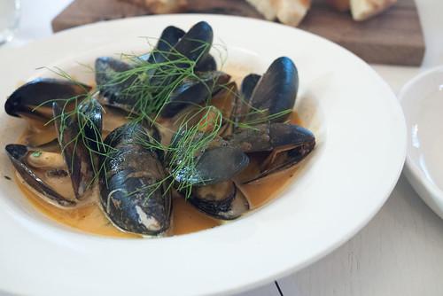 Mussels & Sausage @ Market