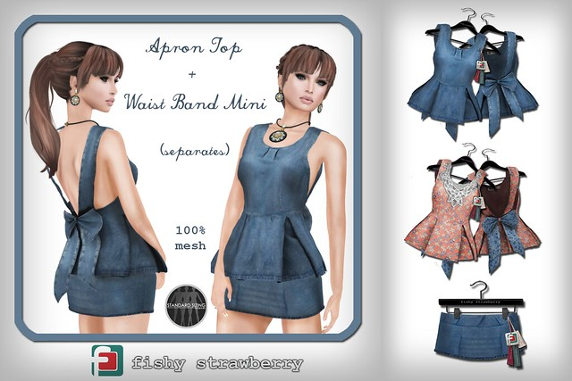 Apron Top and Waist Band Mini