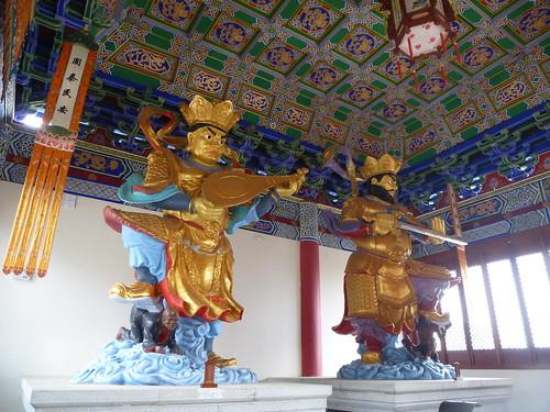 Yunnan13-Dali-5. Salle des Rois célestes (3)