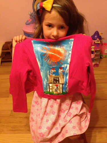 """My Chickens"" a jacket by Adalyn"