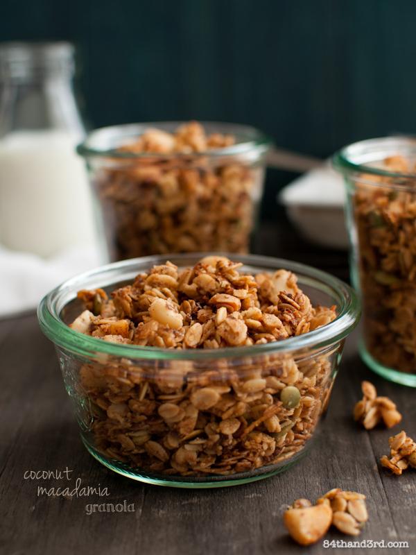Macadamia & Coconut Granola