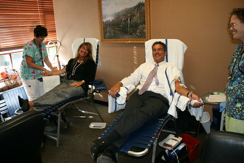 David Lerner Associates blood drive