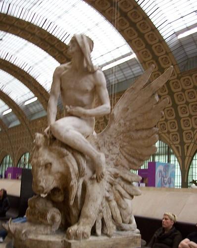 musee d'orsay sculpture - saint mark