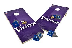 Minnesota Vikings Custom Cornhole Boards XL