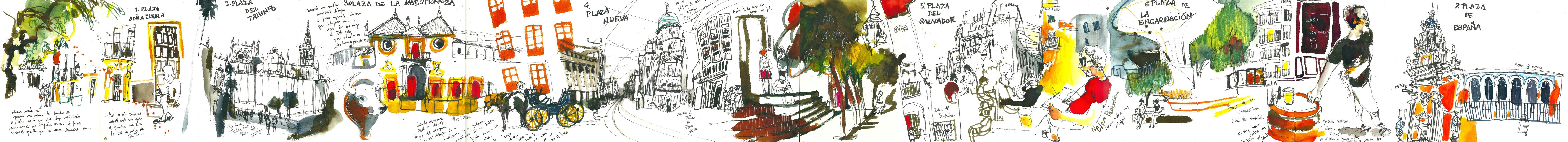 Sevilla y sus plazas