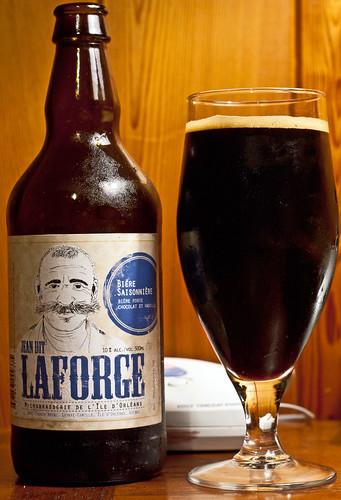 Review: Jean dit Laforge (Microbrasserie de l'île d'Orléans) by Cody La Bière