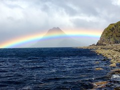 Rainbow over the Cuillins