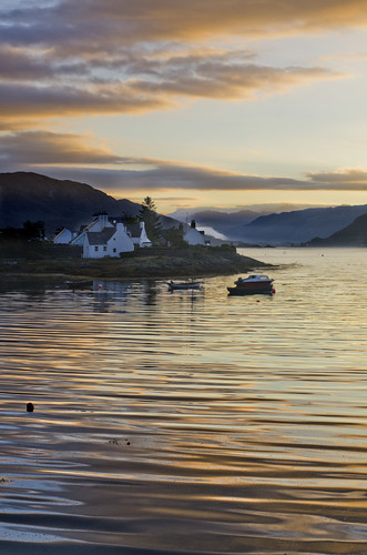 Sunset in Plockton by Melnikovi