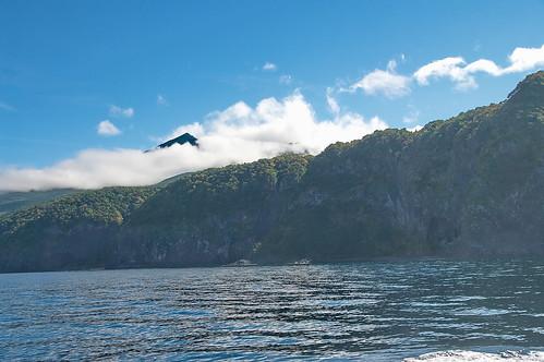 【写真】知床半島遊覧船-往路1