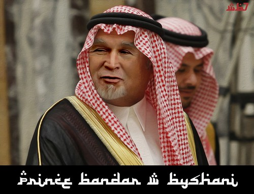 PRINCE BANDAR W BUSHANI by WilliamBanzai7/Colonel Flick