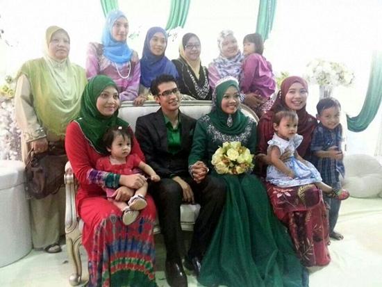 Sekitar Majlis Resepsi Asyraf Muslim & Wan Sakinah