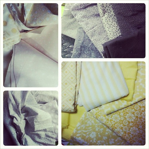 Making a plan. #yellow #gray #black #cream