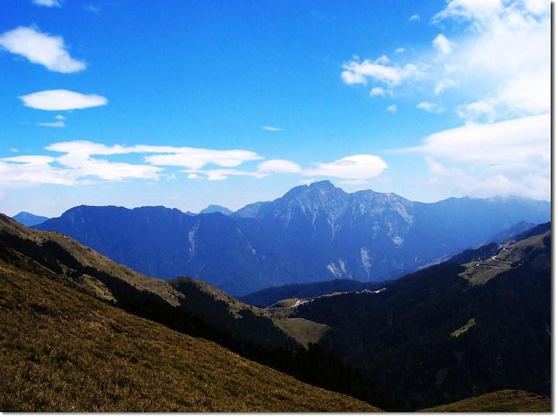 奇萊北峰屏風山(From 北合歡山)