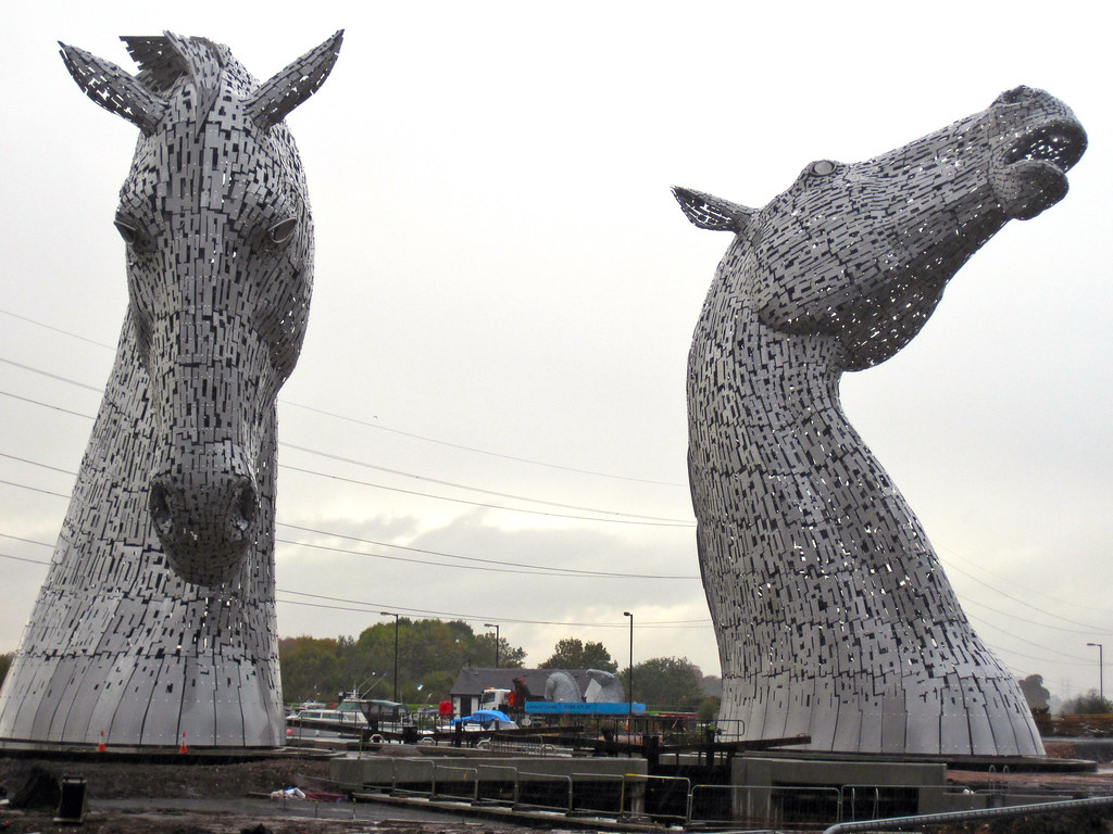 The Kelpies at the Helix (1)