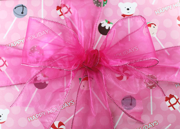 Cake Pops Holidays Wrapping Paper