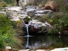 Vilaboa-Cae el agua en a poza da moura