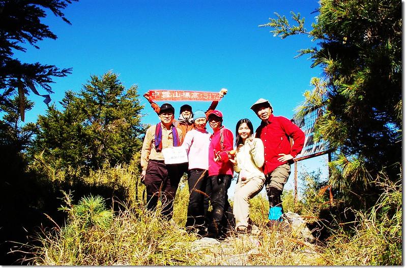 中雪山山頂 3