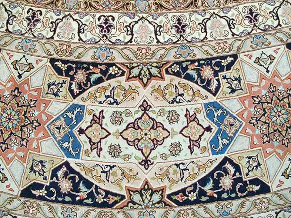 Gonbad Oversize Persian Area Rug 20 X20